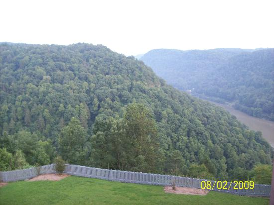 Ansted, WV: view from our room