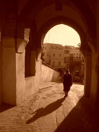 Tangier Casbah: soñaba con la luz y la sombra