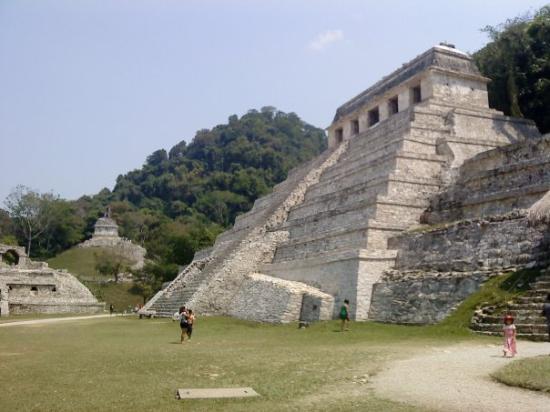 National Park of Palenque: Templo de las Inscripciones.