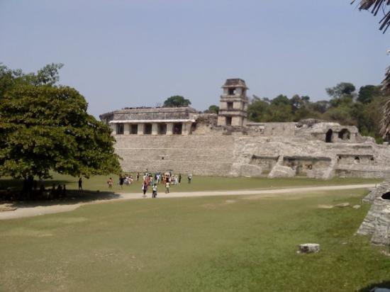 National Park of Palenque: palacio de Palenque.