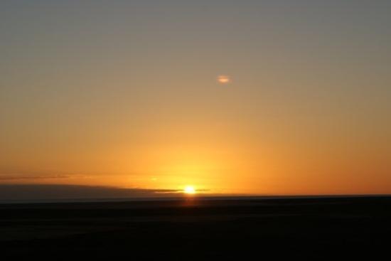 เดนแฮม, ออสเตรเลีย: not a sunrise, we also wake up very early, somtimes