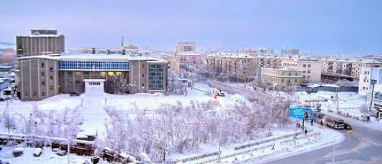 Yakutsk, Rusland: -53С ))))
