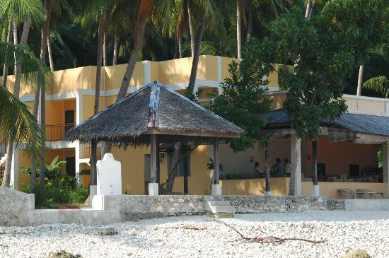 Lubi Resort Santander: Restaurant overlooking the beach