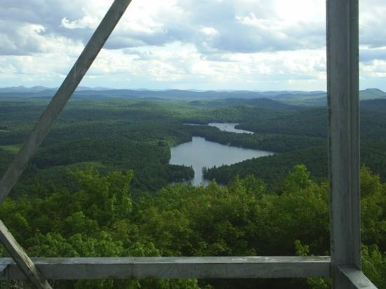 Massawepie, NY: View from Mt Arab fire tower