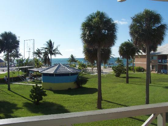 Viva Wyndham Fortuna Beach - An All-Inclusive Resort: view from building A, 3rd floor