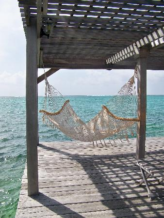Matachica Resort & Spa: Hammock on the dock