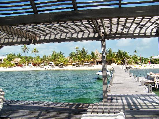 Matachica Resort & Spa: View from dock