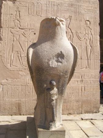 Edfu was a temple for the Falcon God, Horus