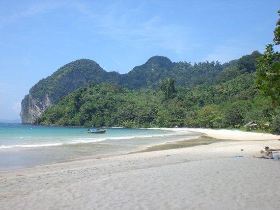 Koh Mak, Tajlandia: Strand auf Koh Mook