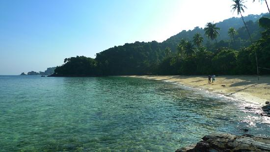 Pulau Kapas, Malasia: the empty beach