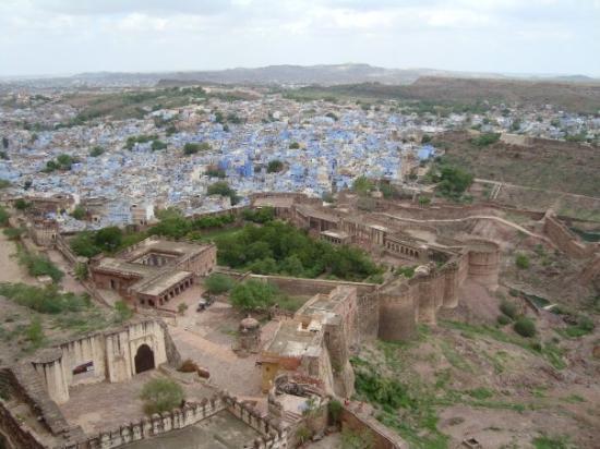 โชธปุระ, อินเดีย: Jodhpur: the blue city