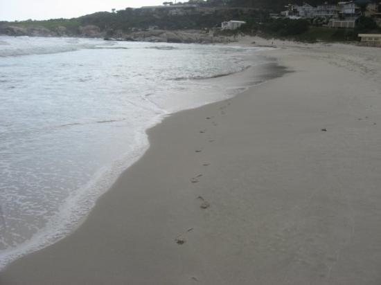 แคมป์สเบย์, แอฟริกาใต้: La plage a Camp's Bay (27 mai)