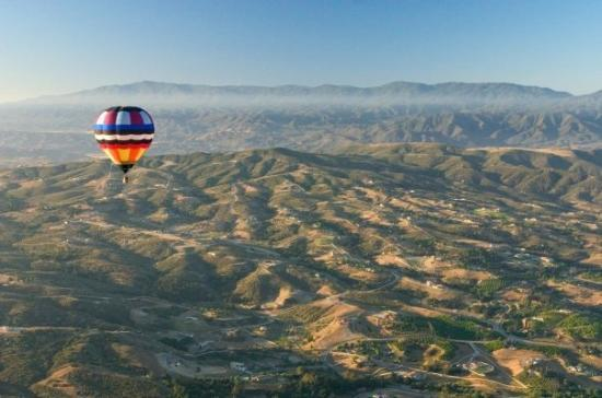 เตเมคูลา, แคลิฟอร์เนีย: balloon ride, Temecula, CA
