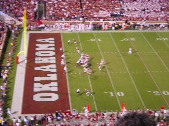 Oklahoma Memorial Stadium: Nothing like OU football