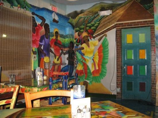 Tap Haitilaisen Ravintolan Sisustusta