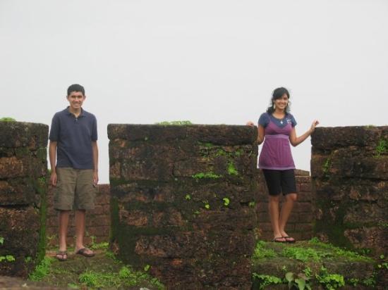 Panjim, อินเดีย: Sujay/Sameeha @ Fort Aguada