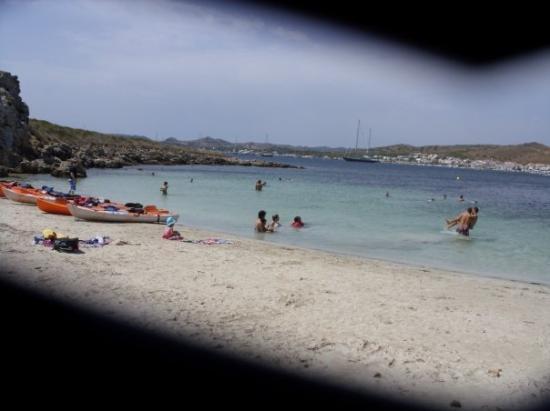 Mahon, สเปน: beach - Menorca