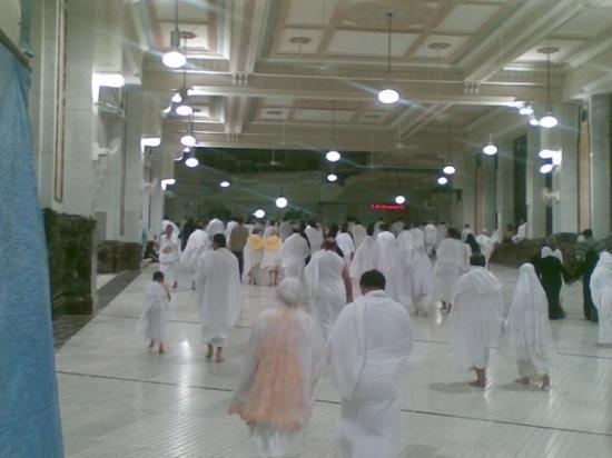 เมกกะ, ซาอุดีอาระเบีย: Between Safa & Marwa