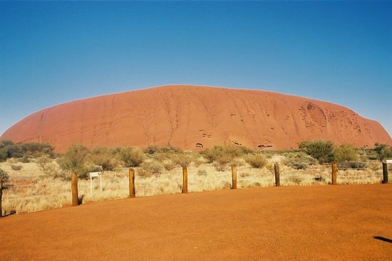Yulara, Australien: The rock 2004