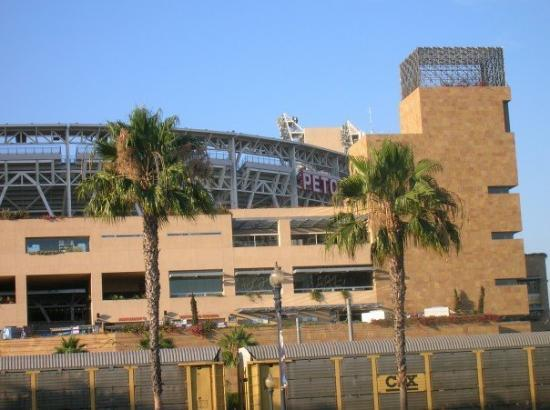 Petco Park: Across from the convention center is...?  PETCO stadium, home of the San Diego Padres