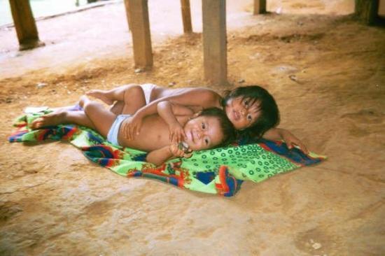 Embera Tours Panama: Enfants Embera