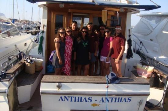ปอร์โตโรตองโด, อิตาลี: 1 giornata in Barca