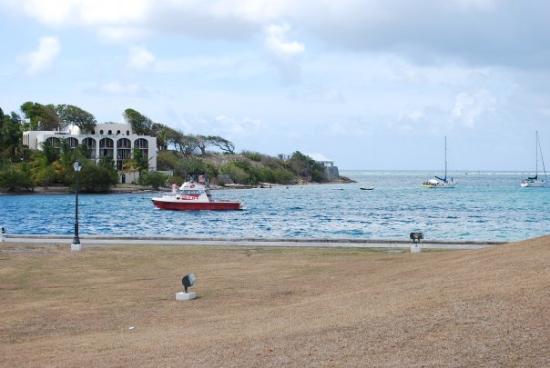 คริสเตียนสเต็ด, เซนต์ครอย: The dive boat I went off...