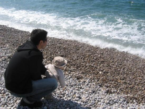 Etretat, ฝรั่งเศส: la mer