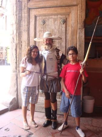 เกเรตาโร, เม็กซิโก: Encontramos al Quijote