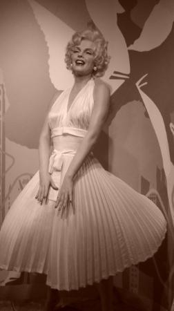 Madame Tussauds Amsterdam: Marylin in Mme Tussauds