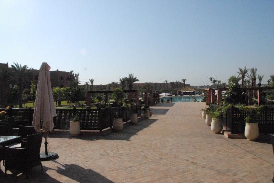 SENTIDO Kenzi Menara Palace: Una vista del hotel