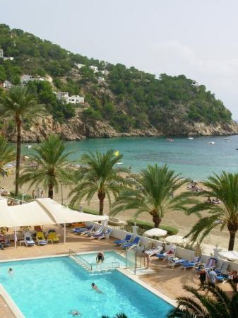 Grupotel Cala San Vicente: Spiaggia albergo di Ibiza - Ibiza settembre 2007
