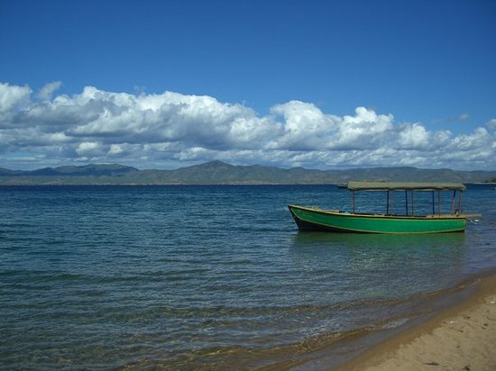 Lilongwe, مالاوي: Blick nach Mosambik