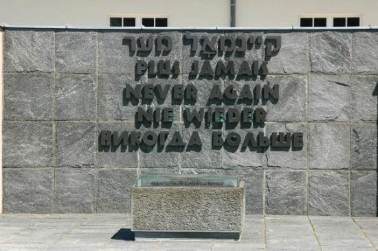 Dachau Concentration Camp Memorial Site: never again!