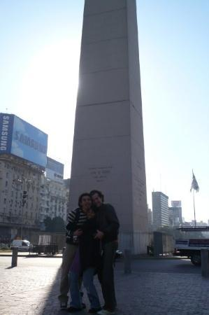 Obelisco de Buenos Aires: el primer dia en el Obelisco!!
