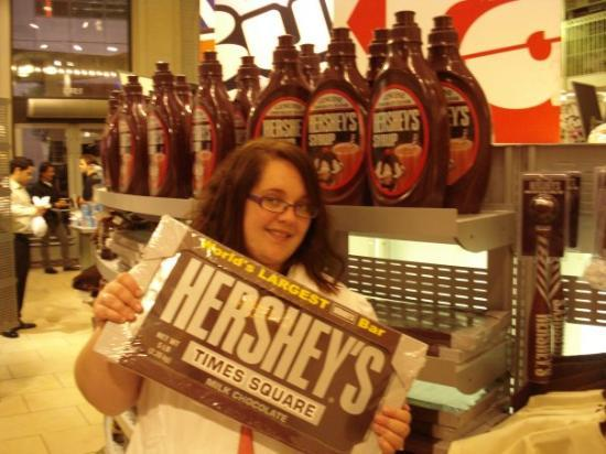 Hershey's Chocolate World Times Square: Fiona has been shrunk