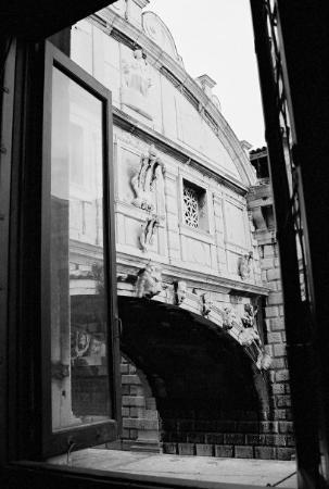 Ponte dei Sospiri: The Bridge of Sighs.  Venice, Italy  Oct. '07