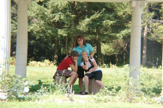 Saratoga Springs, NY: Denise, Lauren and Audra at Yaddo Gardens in Saratoga, NY