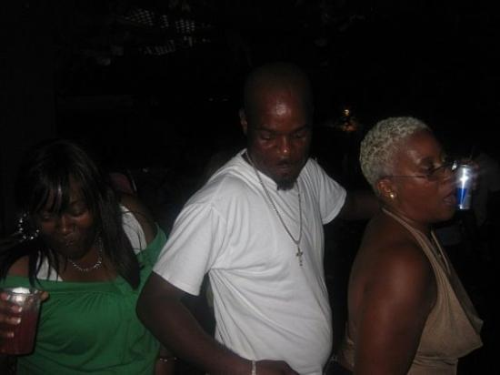 The Jungle Night Club, Sports Bar & Grill: Kendra, MC Shawn, and Mrs. Debra