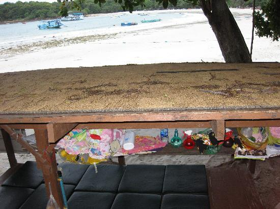 Samed Cabana Resort: 'view' from front window!
