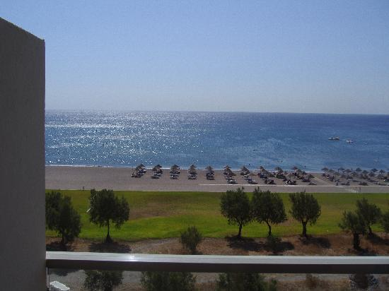 Blue Sea Beach Resort: Vista dalla camera