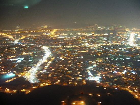 หอคอยโซล: ソウルタワーから見た夜景