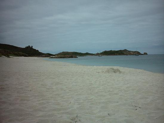 Bell Rock Hotel: The beach at Great Bay, St. Martin's