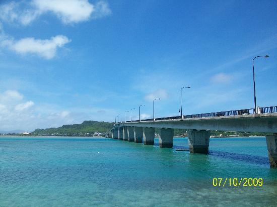 bridge to Henza Jima from boat house - Picture of Hamahiga ...