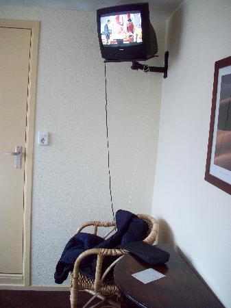 Badhotel Zeecroft : tv&sitzecke