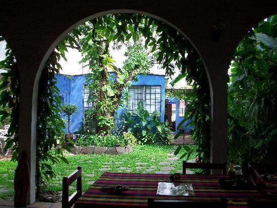 Arbol de Fuego Eco-Hotel: Breakfast Area