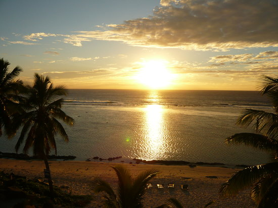 Cook Adaları: cook island sunset