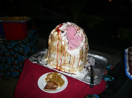 Ilhas Cook: cook island buffet, icecream