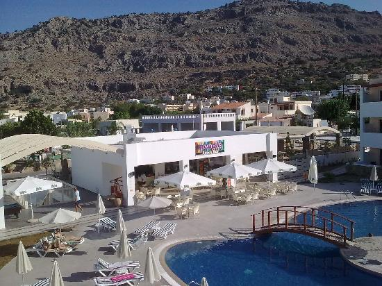 Matina Pefkos Aparthotel: lovely new pool