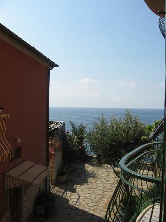 Trattoria Gianni Franzi: View from our window